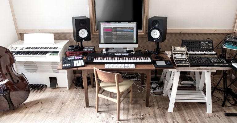 Studio ableton longevity music school