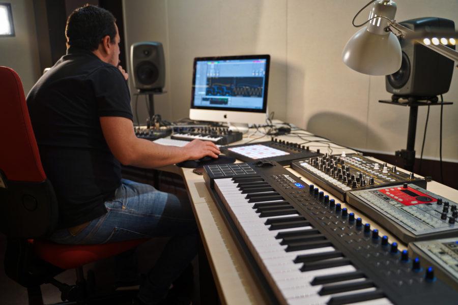 producteur studio musique électronique ableton