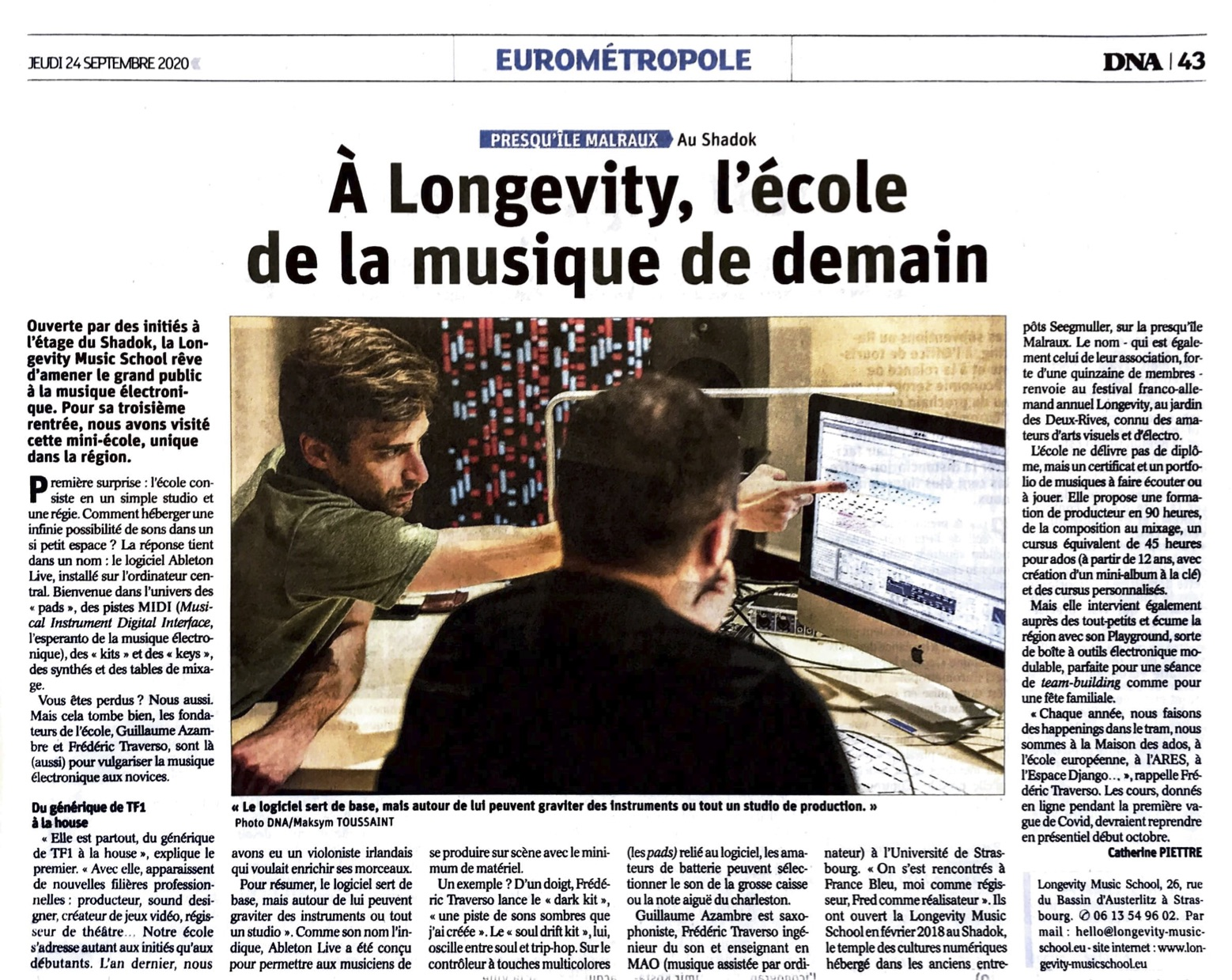 Article DNA 24:09:2020